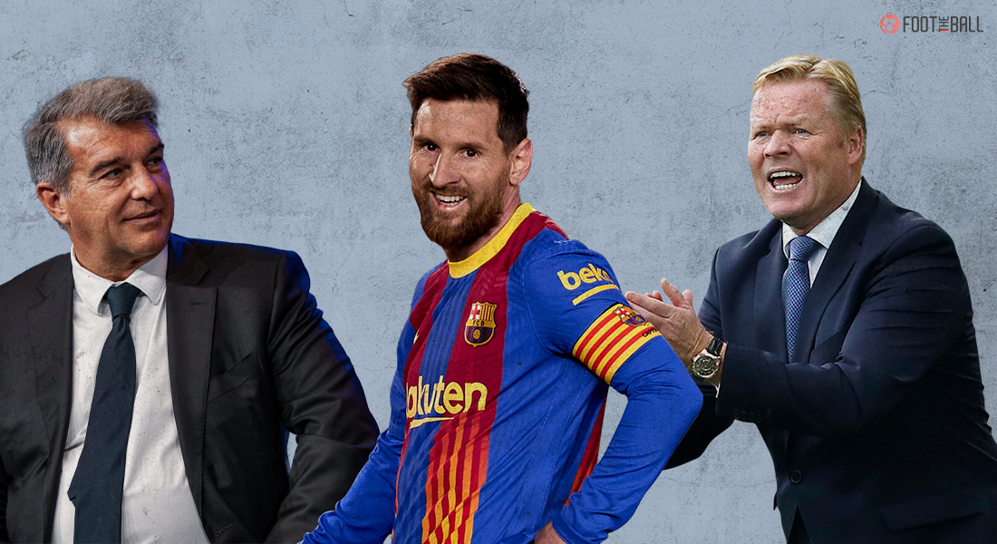 Lionel Messi will leave Barcelona after an agreement due to La Liga rules