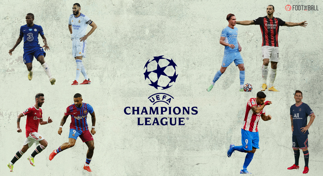 UCL group stage teams