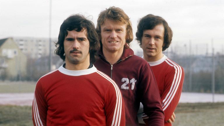 Gerd Muller, Sepp Maier, Franz Beckenbauer