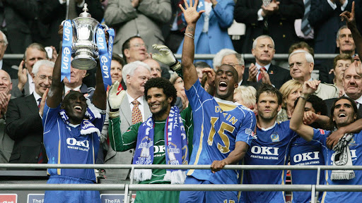 Sol Campbell and Portsmouth FA Cup 2008