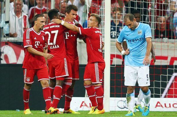Mandzukic against Manchester City