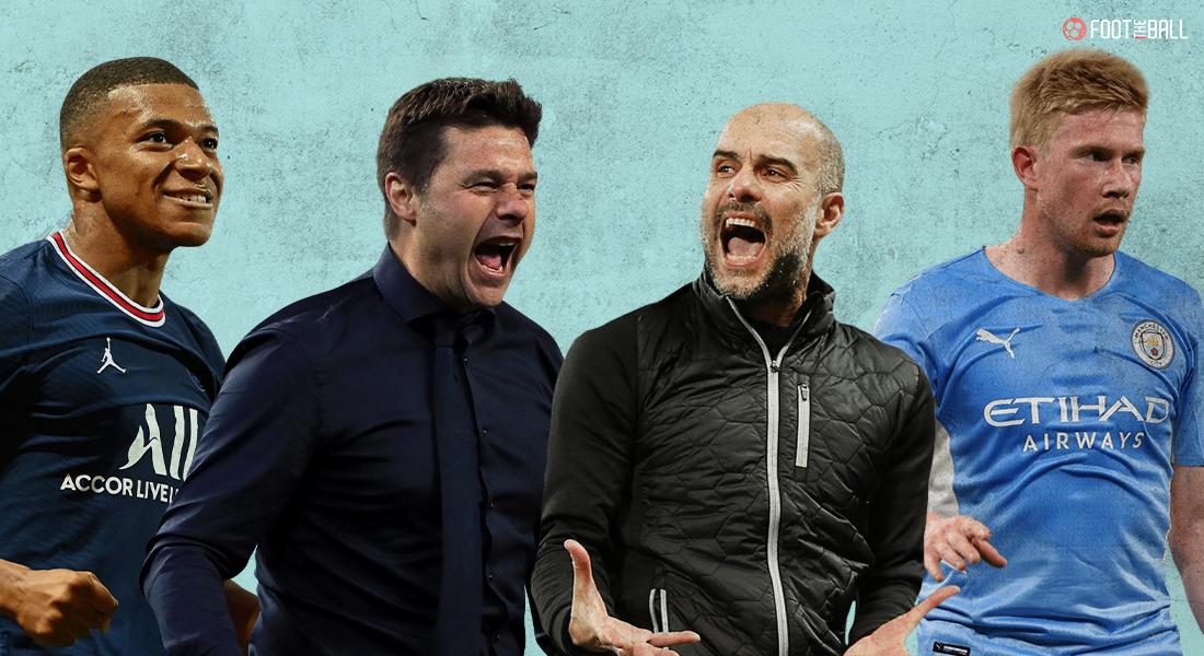PSG vs Mnachester City Champions League