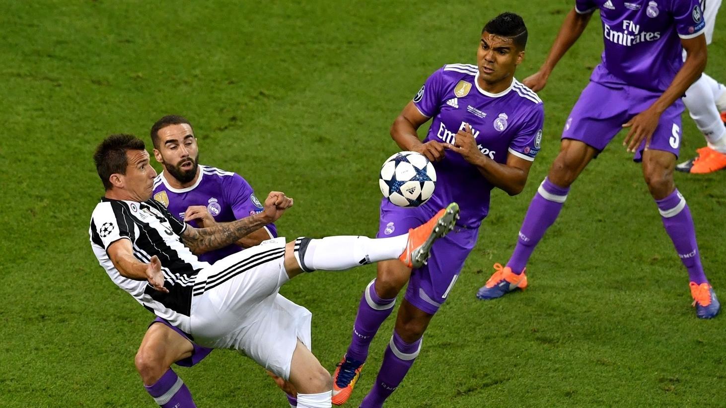 Mandzukic vs Real Madrid