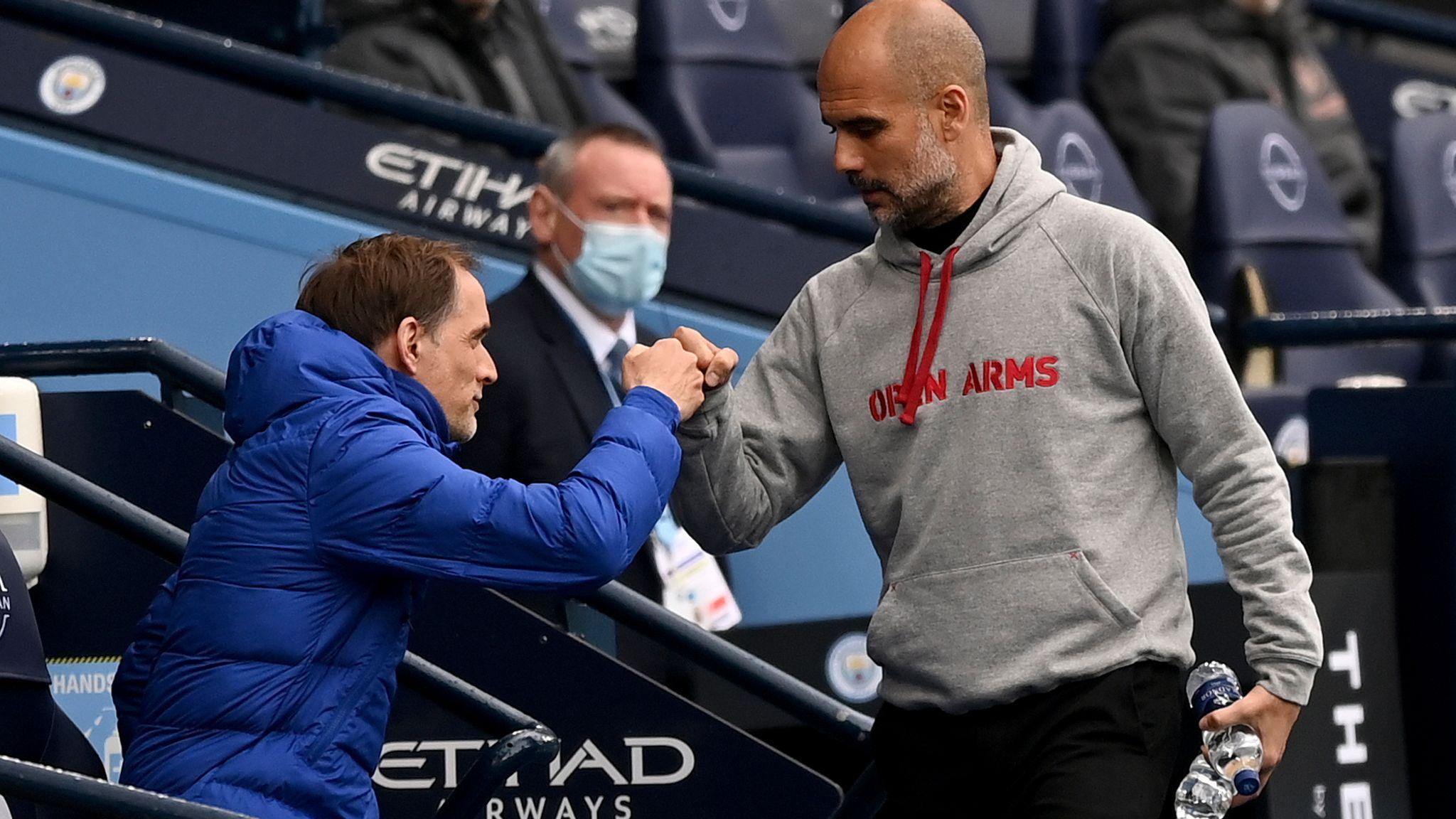 Pep Guardiola and Thomas Tuchel