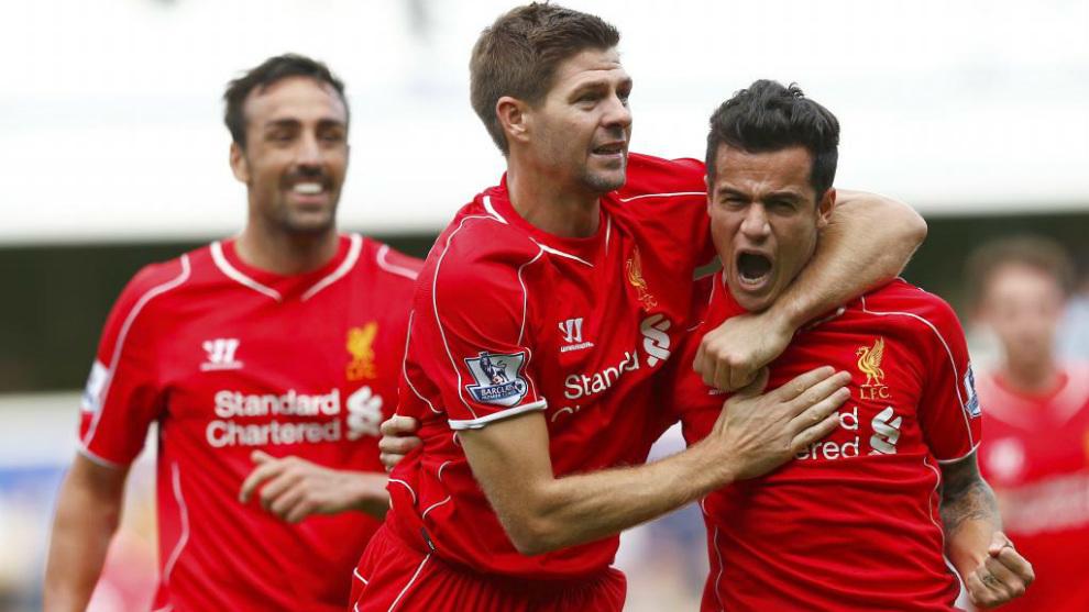Gerrard and Coutinho